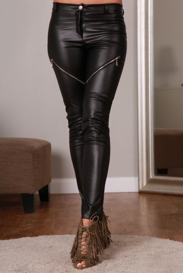Spodnie czarne 98690