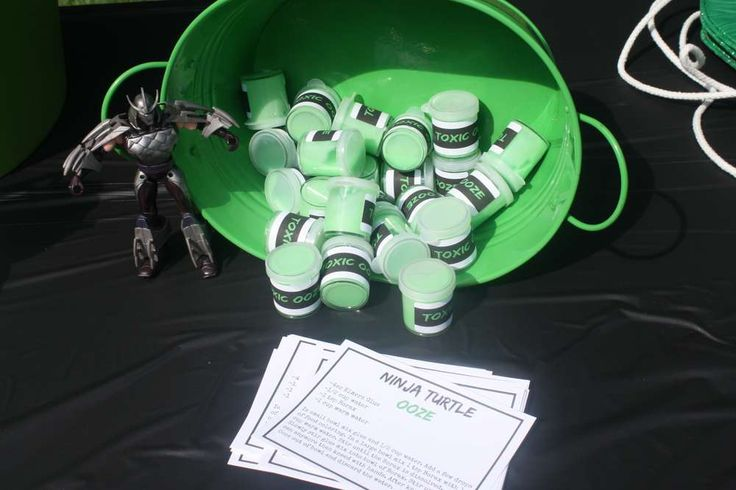 Braxton's 5th Ninja Turtle Party | CatchMyParty.com
