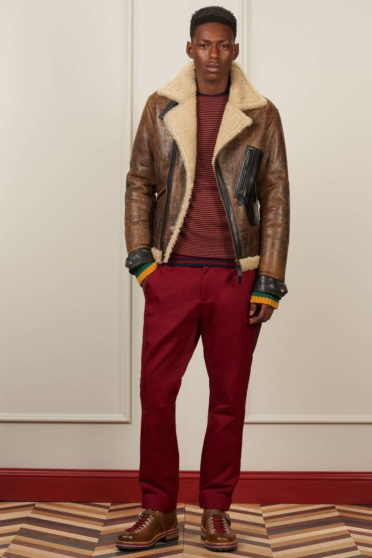 Mens NY Fashion Week -TOMMY HILFIGER FALL 2016 COLLECTİON-