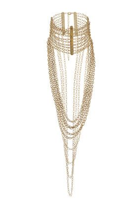 Chain High Neck Necklace - Jewellery - Accessories - Topshop