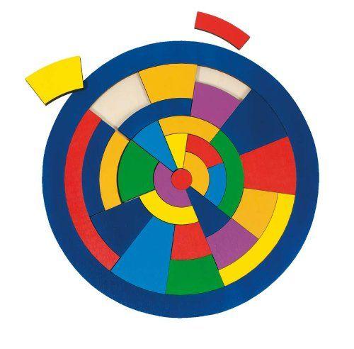 ENCAJE DE MADERA GEOMÉTRICO CÍRCULO Puzle de madera en la forma de un círculo. El juego incluye 29 bloques de diferentes formas y colores. La tarea del niño, llenar todo el marco #puzlegeometrico #encajegeometrico #puzlemadera  http://www.babycaprichos.com/encaje-de-madera-geometrico-circulo.html