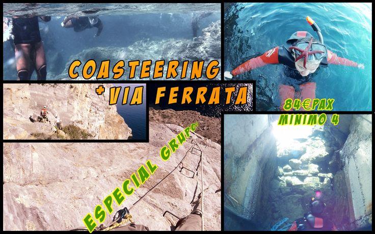 #coasteering #Isla Plana #sirocoaventuras #region de murcia