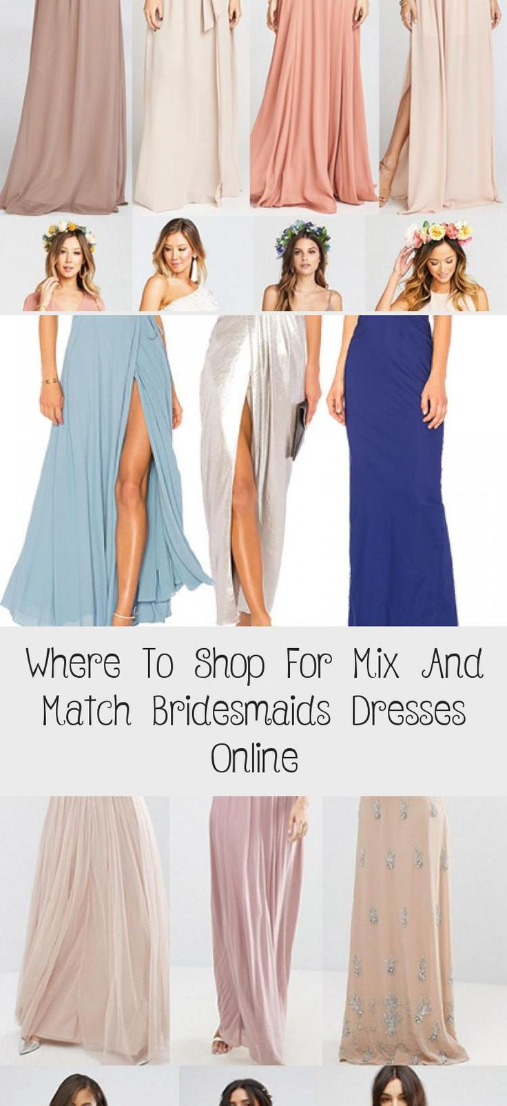 Searching for where to shop for mix and match bridesmaids dresses online? I've listed out my top five shops for gorgeous mix and match bridesmaids dresses for any time of year. Black mix and match bridesmaids dresses. Nude mix and match bridesmaids dresses. Blush mix and match bridesmaids dresses. Blue mix and match br