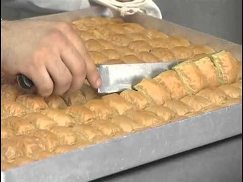 How To Make Baklava - 3 - YouTube
