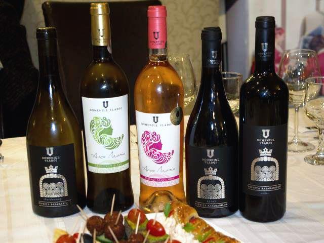 Cinci vinuri de la Domeniul Vlădoi la Degustările Costăchel&Expo