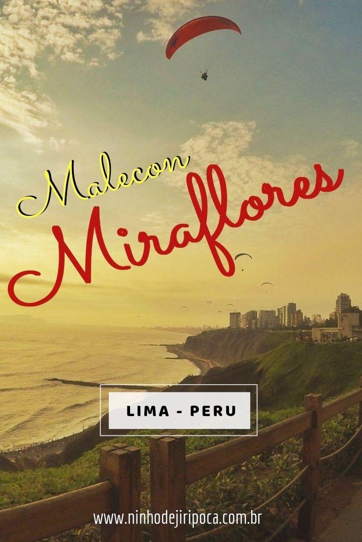 Passeio pelo Malecon de Miraflores, em Lima, Peru: Parque del Amor, por do sol, Oceano Pacifico e parapentes