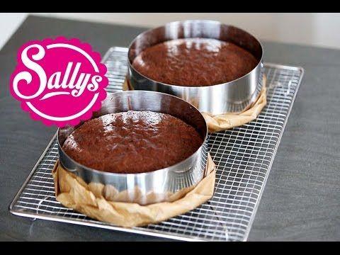 saftiger Schokoladenkuchen - ideale Grundlage für Motivtorten / Cake Basics - YouTube