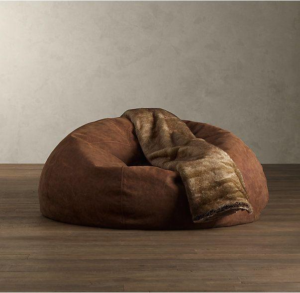 Grand Leather Bean Bag Chair - Best 25+ Leather Bean Bag Chair Ideas On Pinterest Leather Bean