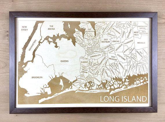 Long Island NY Neighborhood Map Hempstead Oyster Bay