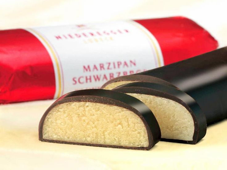 The finest Marzipan comes from Germany. Niederegger Lübeck - Marzipan aus Liebe. Seit 1806. (click thru for Neideregger website)