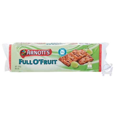 Full 'O' Fruit – Arnott's – 250g | Shop Australia