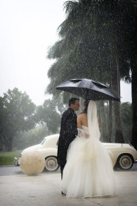 WALKING IN THE RAIN WITH THE ONE I LOVE..
