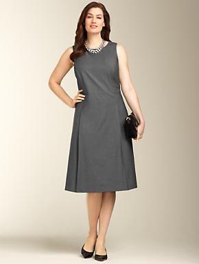 Talbots - Seasonless Wool A-line Dress | Seasonless Wool-Blend | Woman