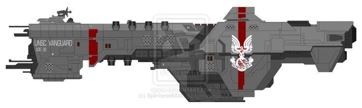 Vanguard-class destroyer by SplinteredMatt on @DeviantArt