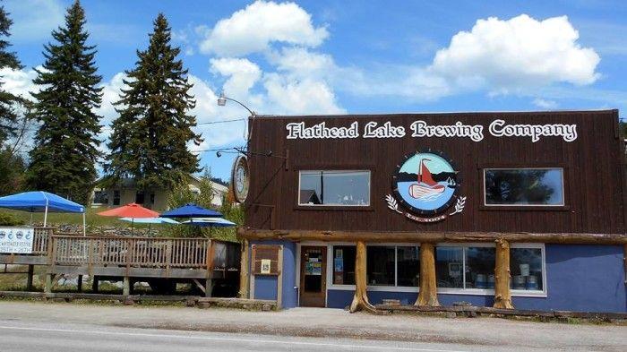 Rooftop in Montana 5. Flathead Lake Brewing Company - Bigfork Brewery