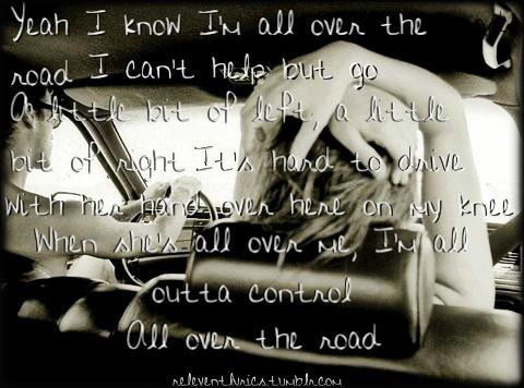 EASTON CORBIN - ALL OVER THE ROAD ALBUM LYRICS