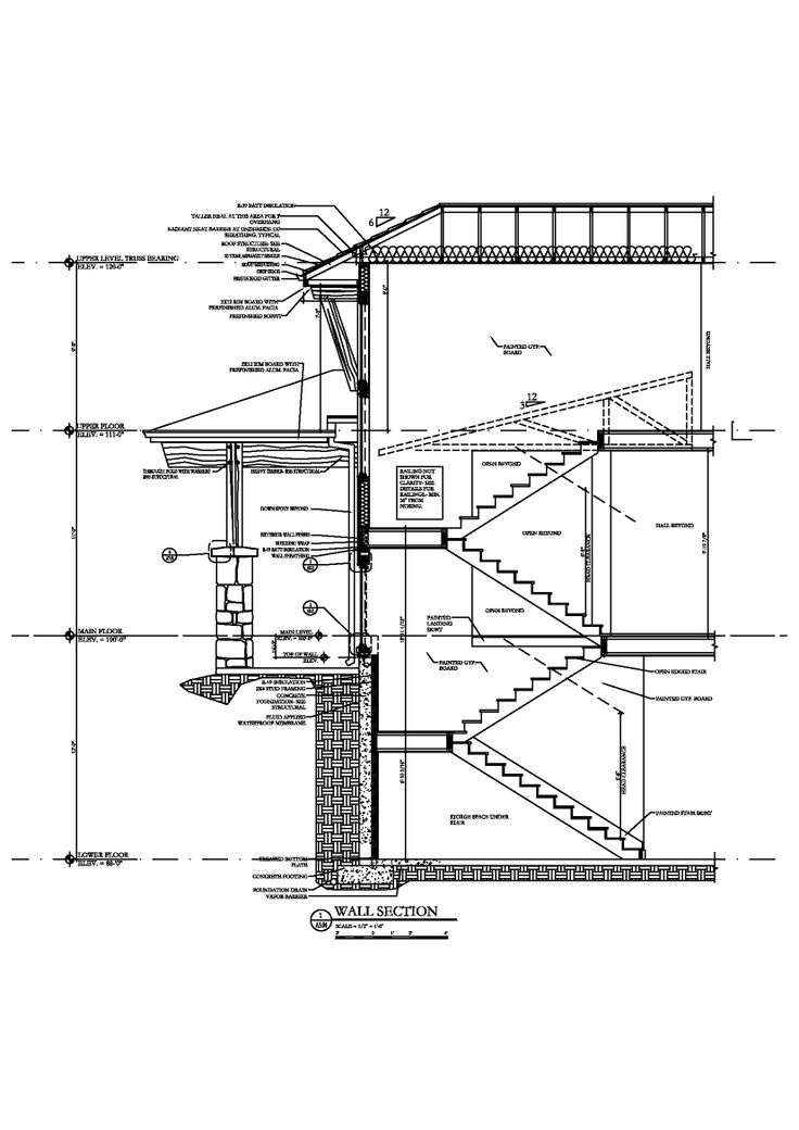 Staircase Section Tower : Images about stairs on pinterest wood staircase