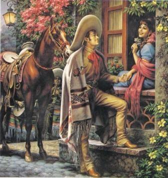 """Las Mañanitas""-Jesus Helguera. So Romantic. ⌘"
