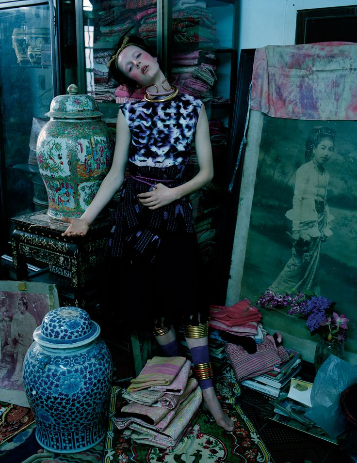 Gilt Trip - Photographed by Tim Walker, styled by Jacob K; W Magazine May 2014