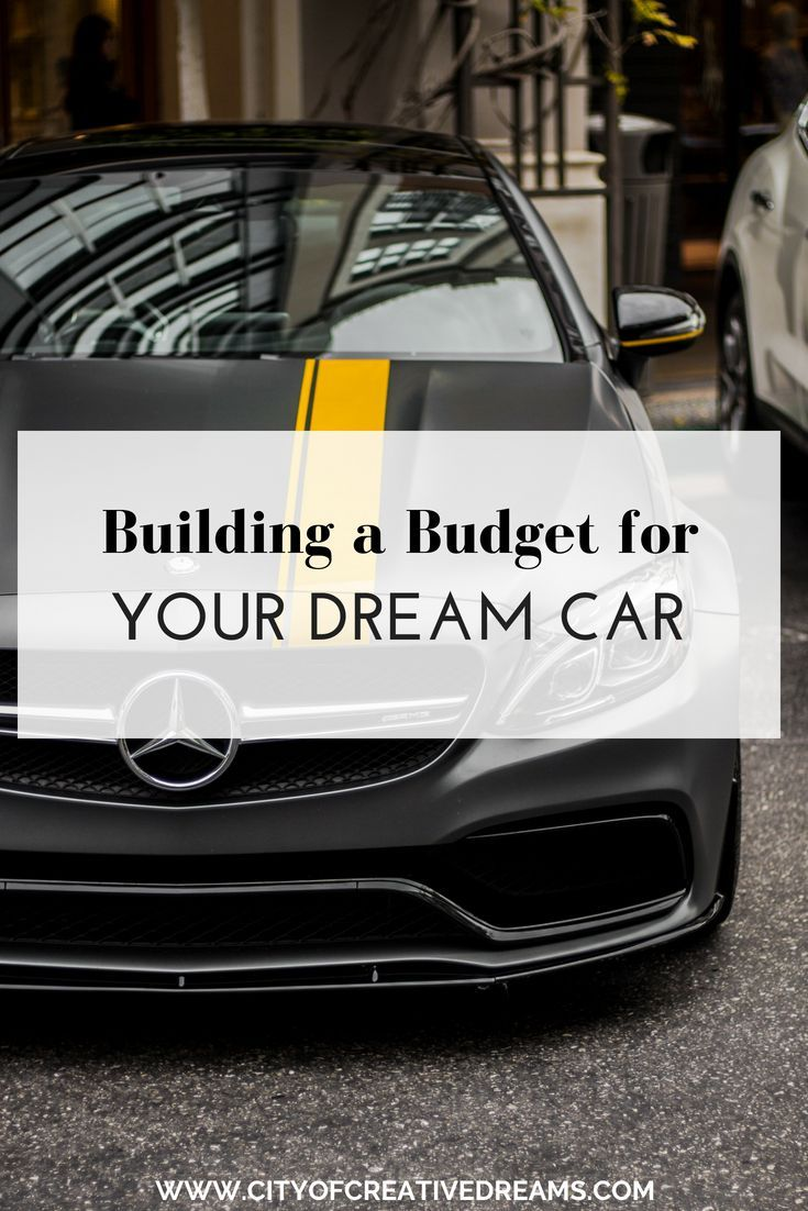 Building A Budget For Your Dream Car In 2020 With Images Dream Cars City Car Cars Organization