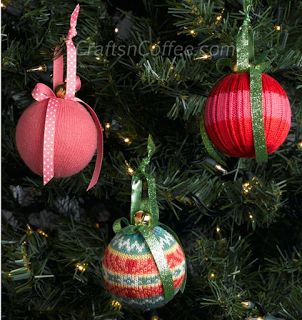 creatief besparen en meer: kerstornament