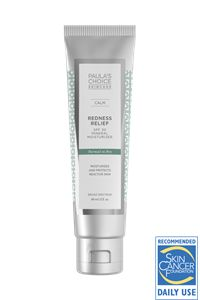 SPF for sensitive, dry skin: CALM SPF 30 Moisturizer for Normal to Dry Skin #paulaschoice #fragrancefree #crueltyfreeproduct