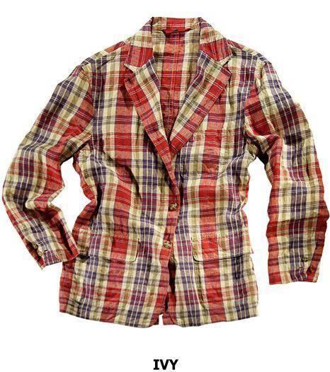 """Veste """"SLACK"""" style IVY League pour homme en madras 100% lin, non doublée, 3 boutons, poches plaquées à rabat, 1 fente milieu dos / IVY League """"SLACK"""" jacket for men in 100% linen madras, unlined, 3 buttons, patch pockets with flaps, 1 vent #menswear #jkeydge #slackjacket #slackmania #ivyleague #cool #casualchic #chino #jeans"""