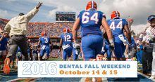 2016 Dental Fall Weekend – College of Dentistry – University of Florida #weekend #dentist http://dental.remmont.com/2016-dental-fall-weekend-college-of-dentistry-university-of-florida-weekend-dentist-2/  #weekend dentist # 2016 Dental Fall Weekend Please join us October 14-15, 2016 The college's 2016 Annual Dental Fall Weekend is scheduled for October 14-15. The Florida Gators are playing the Missouri Tigers in The Swamp and it promises to be an exciting game that Gator fans won't want to…