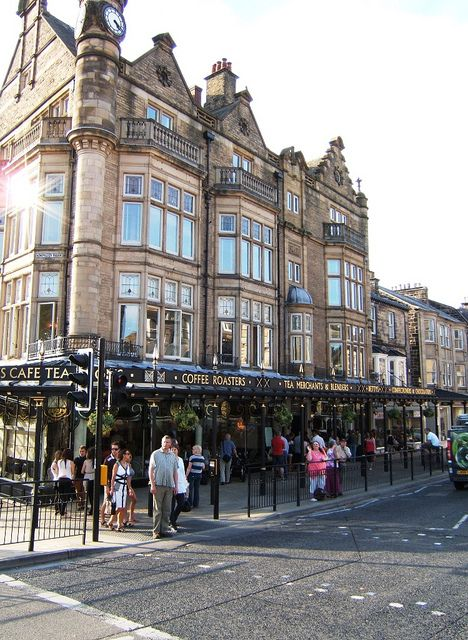 Harrogate in Yorkshire, England