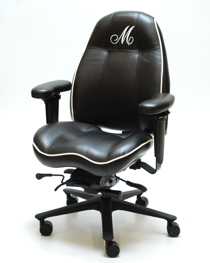 LIFEFORM 2490 Ultimate MB with Custom Monogram Embroidery and Coccyx Cut Out on Seat