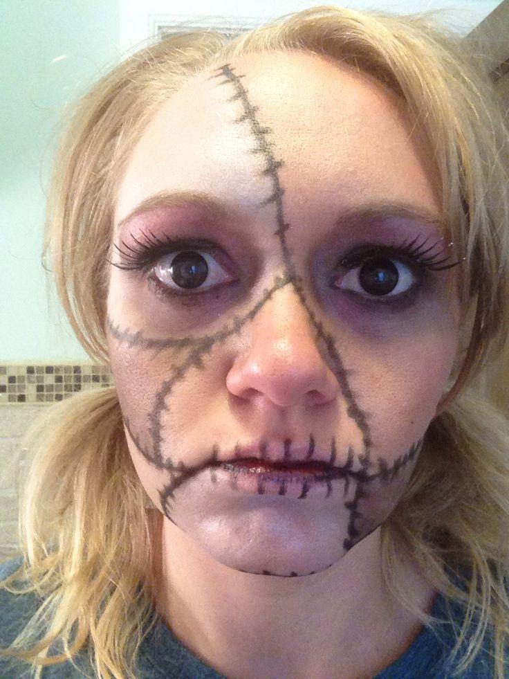 Vi Voodoo Doll Makeup - Mugeek Vidalondon