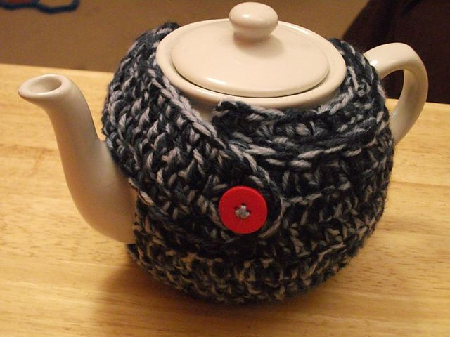 crochet christmas pudding tea cosy pattern quilted