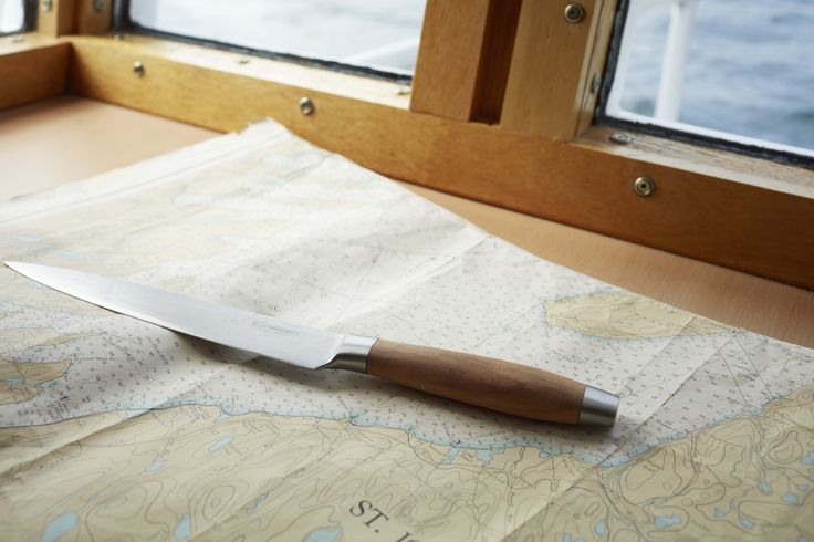 Carving Knife in Olive Wood