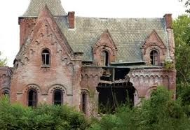 In ruins: Wyndclyffe mansion in Rhinebeck, NY, has been abandoned for over half a century