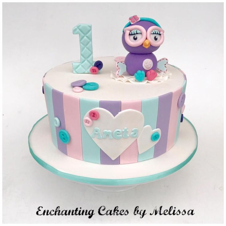 Hootabelle cake from https://www.facebook.com/Enchanting-Cakes-by-Melissa-214995198568286/