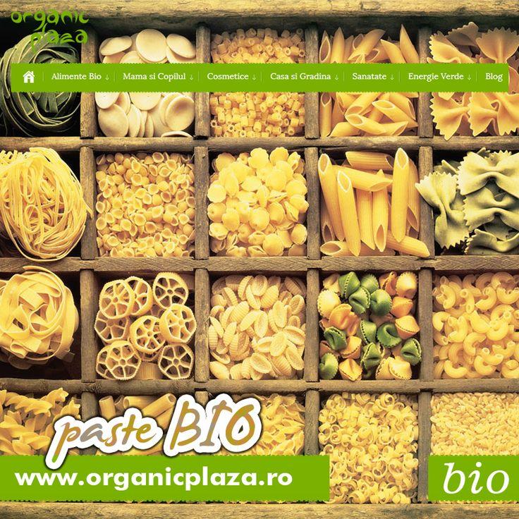Paste Integrale Bio si Paste din Grau Dur Bio Descopera-le mai jos: http://organicplaza.ro/paste