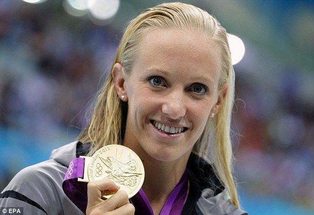 Dana Vollmer takes gold