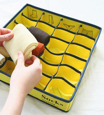 Чехол для хранения белья Icon Underwear (разные цвета) / Лимонный