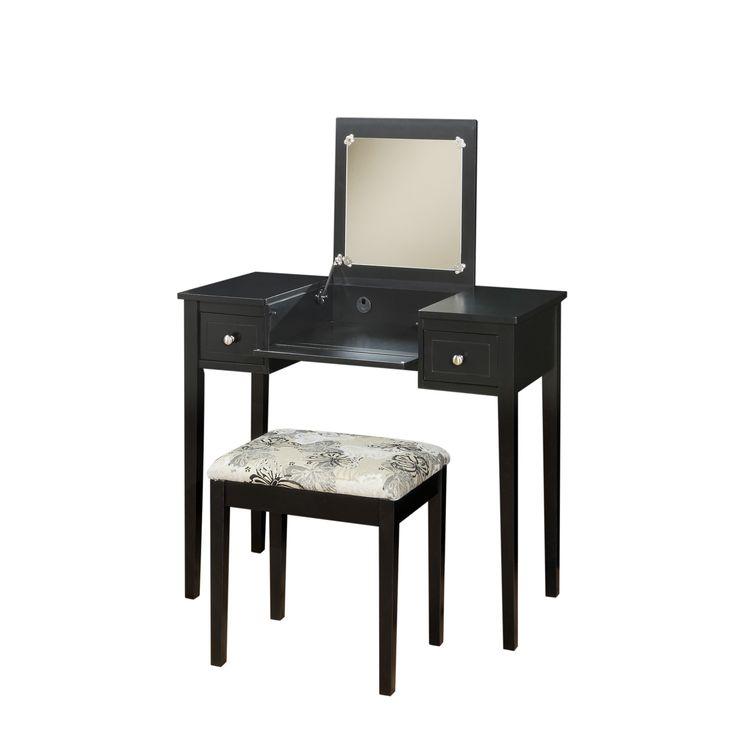 17 Best Ideas About Black Vanity Table On Pinterest Beauty Room Diy Makeup
