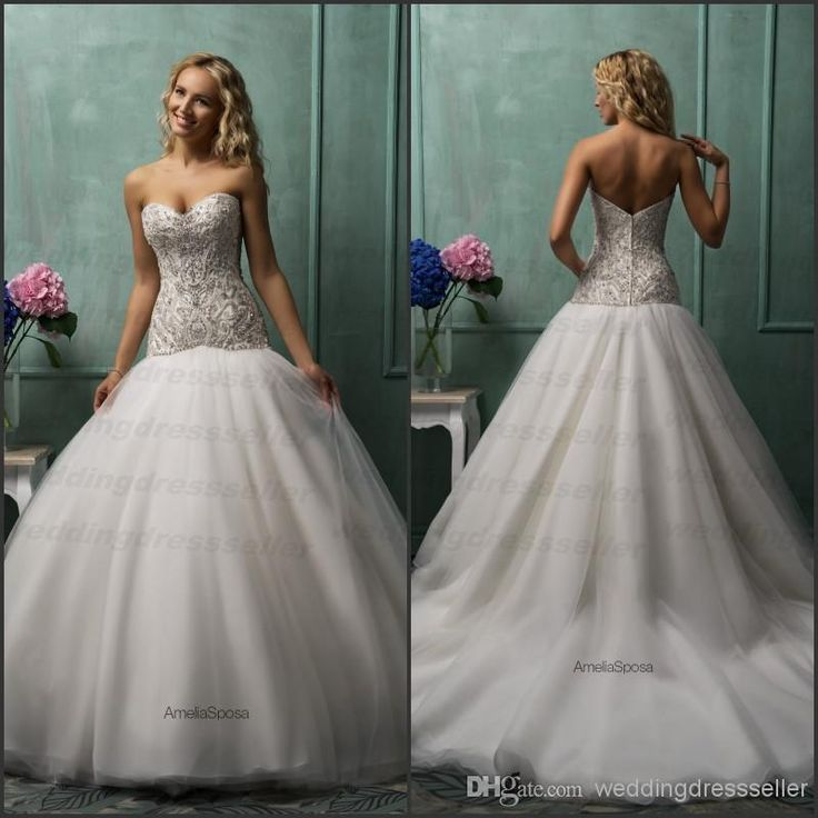 72 best Wedding Gowns images on Pinterest | Bridal gowns, Homecoming ...