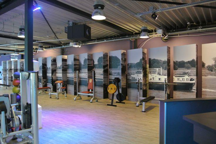Wellness & Healthclub Newstyle Vianen ontworpen en ingericht door Kortekaas Interieurs.
