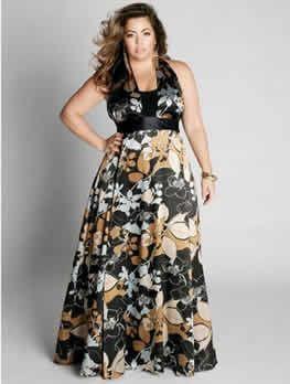 imagenes de vestidos para gorditas