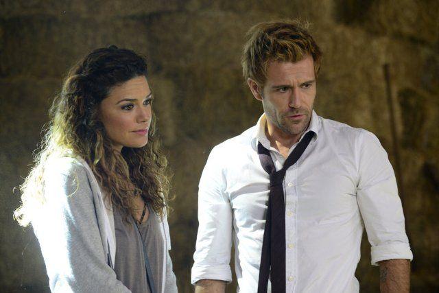 stills from Constantine tv show | Still of Matt Ryan and Angélica Celaya in Constantine (2014)