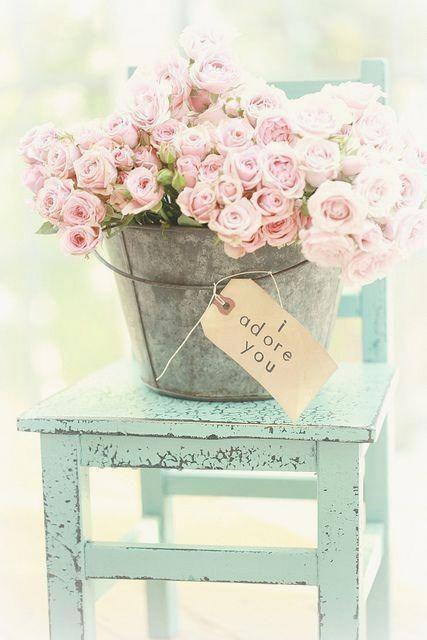 vintage shabby chic flower arrangement shabby chic furniture rh pinterest com