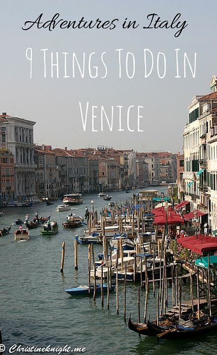 9 Things To Do In Venice, Italy