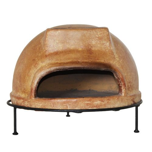 """Features: -Portable: Yes. -Can make up to a 10"""" pizza. -Fuel Type: Wood. -Rich assortment of hand painted glazes. -Enhanced clay formula for longer life. -Can be use on floor and tabletop. Colo"""