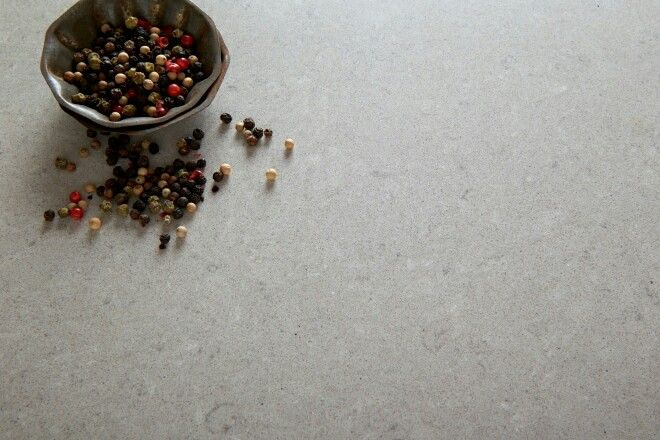 Ash grey Quantum Quartz -Benchtops to kitchen, butlers and all bathrooms and powder rooms