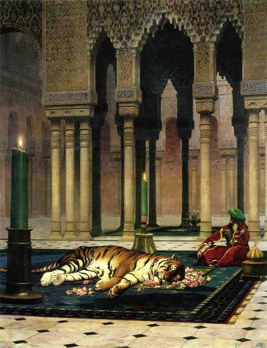 The Pasha's Sorrow - Jean-Leon Gerome