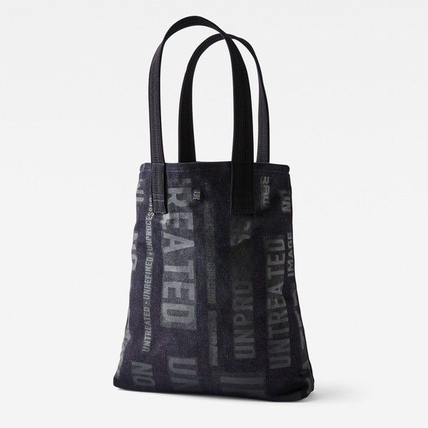 G-Star RAW Zetja Shopper (62 NZD) ❤ liked on Polyvore featuring bags, handbags, tote bags, print shopping bags, white handbags, shopping bag, shopper handbags and pattern tote bag