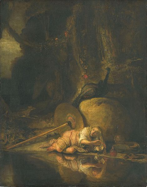 Hera taking refuge during the fight between the Gods and the Giants. Date	between 1640 and 1650